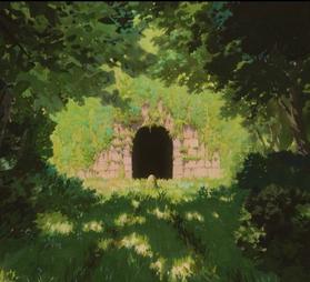 千と千尋の神隠し トンネル ラスト